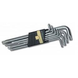 Zestaw kluczy TORX T15 ? T55 Jobiextra, 9 elem.