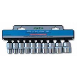 Zestaw nasadek HONITON, 1/2?, 10-24 mm, 10 elem.