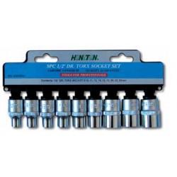 Zestaw nasadek HONITON, 1/2?, torx, 9 elem.