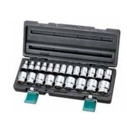 Zestaw nasadek HONITON 22 elem. 1/2? 10-32 mm Honidriver