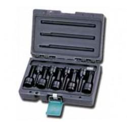 Zestaw nasadek udarowych torx HONITON, 9 elem. T25-T70