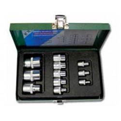 Zestaw nasadek torx HONITON, E4-E20, 11 elem.