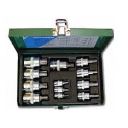 Zestaw nasadek torx HONITON, T8-T60, 12 elem.