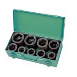 Zestaw nasadek udarowych HONITON 24-50 mm, 9 elem.