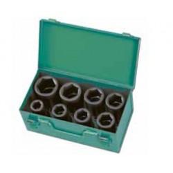 Zestaw nasadek udarowych HONITON 19-32 mm, 8 elem.