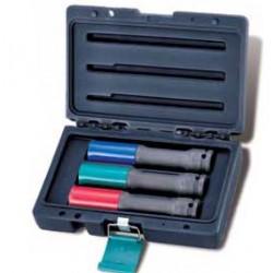 Zestaw nasadek udarowych HONITON, 17-21 mm, 1/2?, 3 elem.