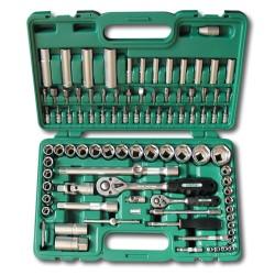 HONITON tools set 94 pcs. 1/4?, 1/2?