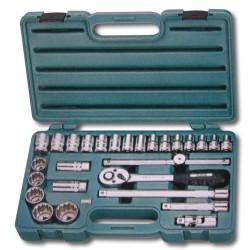 "Zestaw narzędzi HONITON, honidriver, 1/2"", 27 elem."