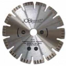 Diamond cutting blade, turbo