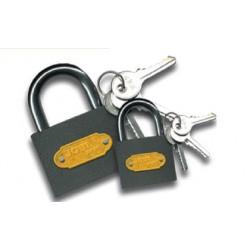 Iron wraped padlock