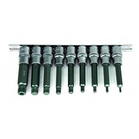 SSocket set 5 pcs. 1/2? 4-17 mm hex
